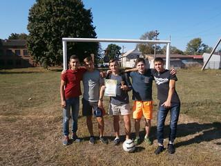 Фінальні ігри з міні футболу