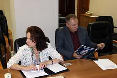 Анна Луговая – исполнительный директор АРПП и Владимир Дворянов – руководитель службы по связям с общественностью «МАП»