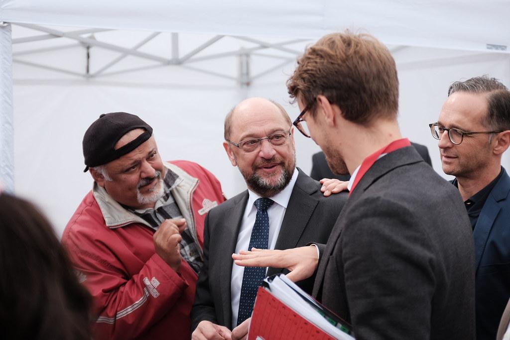Martin Schulz in Saarlouis