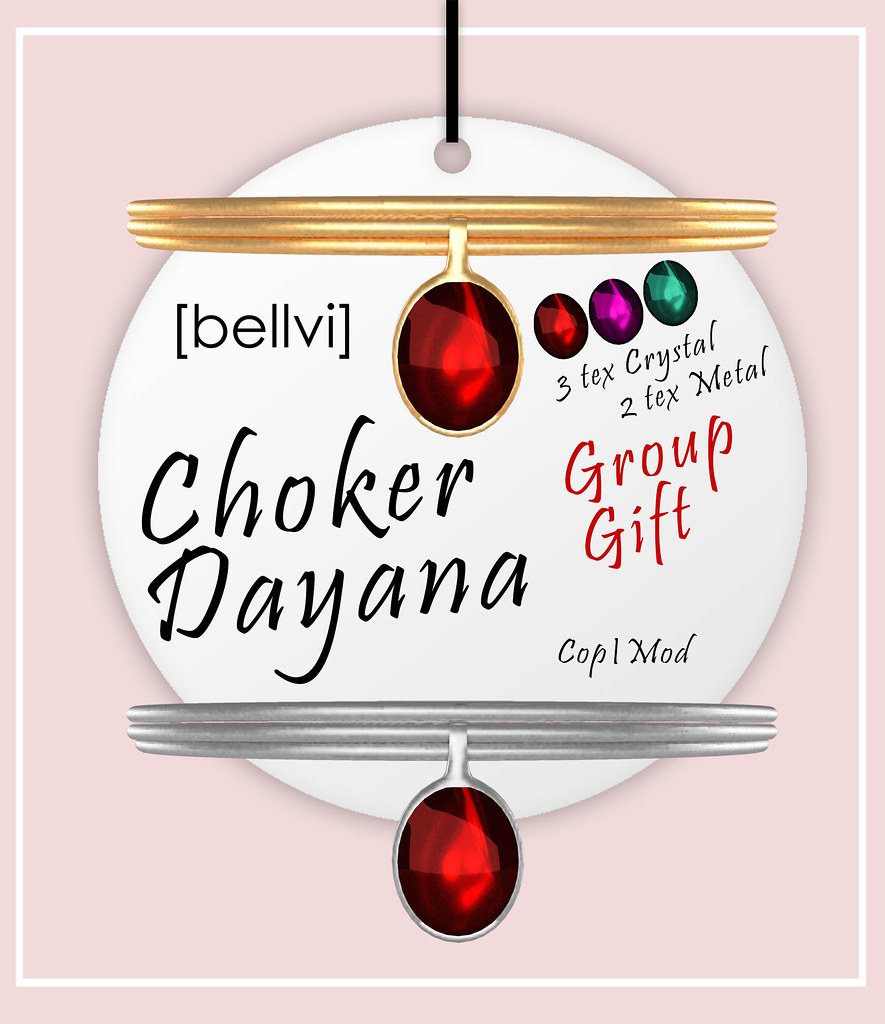 [bellvi] Choker Dayana Group Gift - SecondLifeHub.com