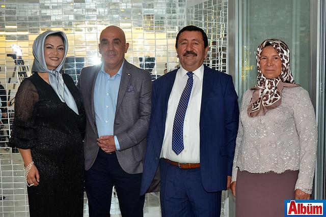 Meral Sulutaş, Hüseyin Sulutaş, Ahmet Çavuşoğlu, Esma Çavuşoğlu