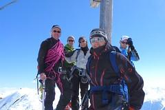 Silvretta, Skitour Piz Buin, 3312 m, Auf dem Gipfel des Piz Buin. Foto: Günther Härter.
