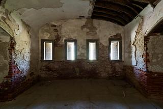 Fort Warren Demi Lune Windows