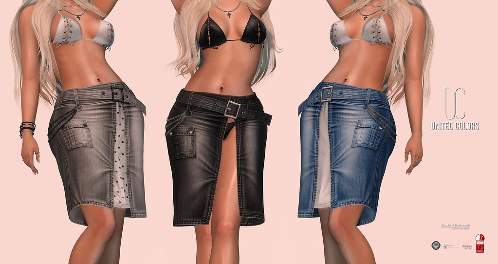 United Colors Jeans Skirt available at 4MESH Event, September 11