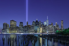 Tribute in Light - #NeverForget