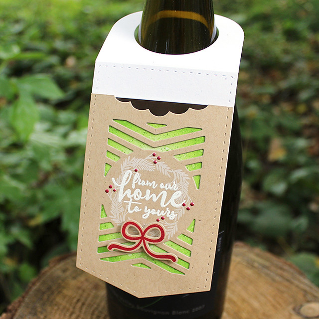 From Our Home To Yours Wine Bottle Tag