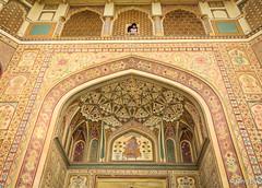 Amber Fort in Jaipur, Rajasthan, India