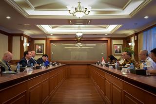 Kunjungan Menteri Perdagangan Australia Steven Ciobo