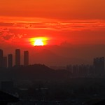 Sat, 07/15/2017 - 11:57 - Coucher de soleil flamboyant - Sunset on fire  - 15/07/2017 - Hangzhou (China)