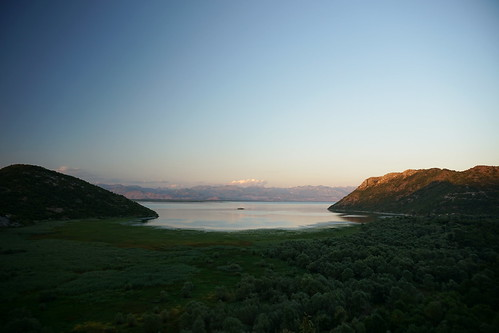 montenegro landscape sunset