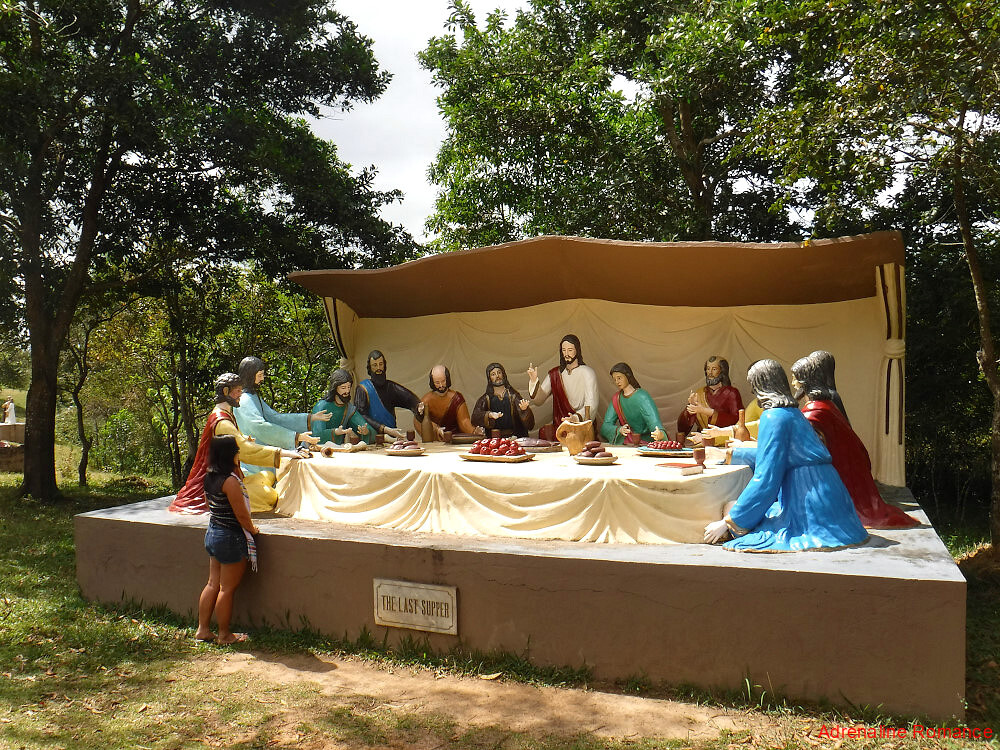 Life-Sized Statues at Holy Family Hills
