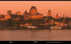 Quebec city summer sunrise DRI