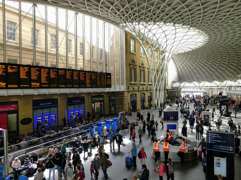 Main concourse, Kings Cross Station, London