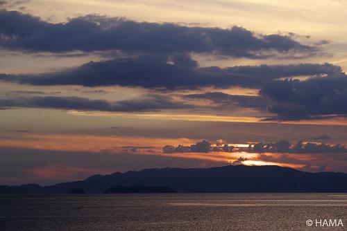 Sunset at Mikawa