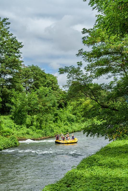 River picnic in Azumino NAGANO