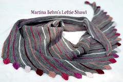 Martina Behm's Leftie shawl | EvinOK