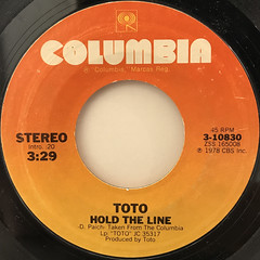 TOTO:HOLD THE LINE(LABEL SIDE-A)