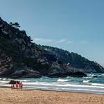 Playa de Otur en Valdés, Asturias.