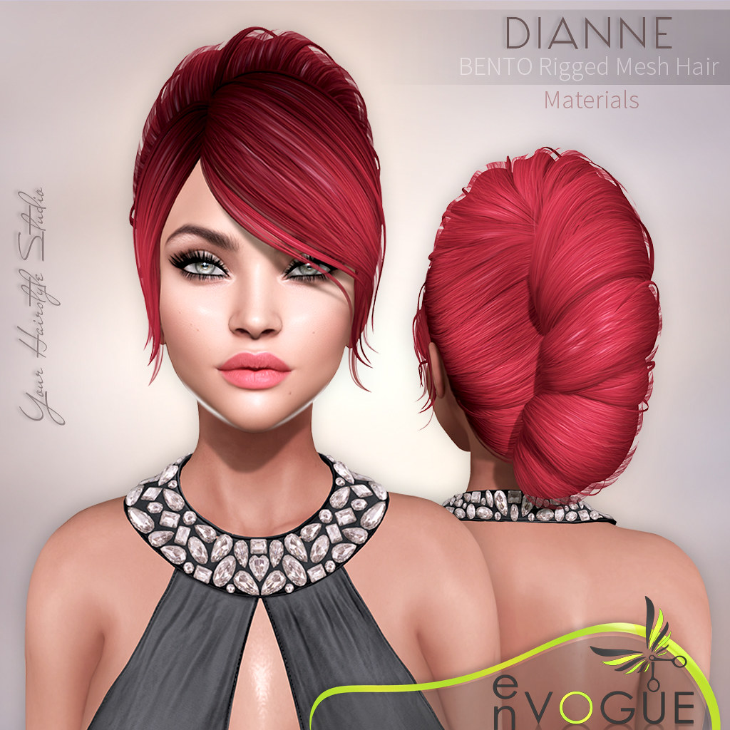 ● ❤️ ● enVOGUE -  DIANNE Hair - Bento ● ❤️ ● - SecondLifeHub.com