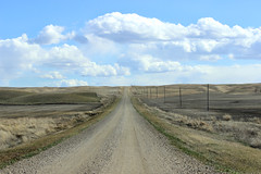 Gravel Road to the Coteau