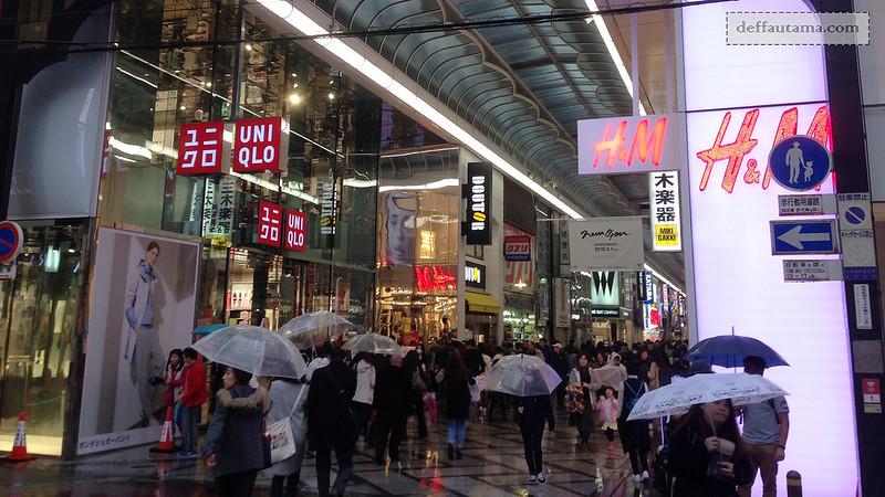 2 Hari Keliling Osaka -Shinshaibashi