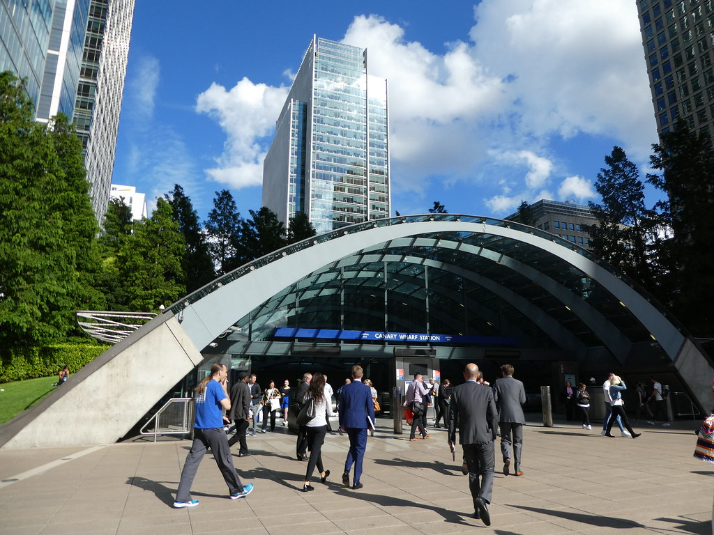 Canary Wharf Station, London Docklands