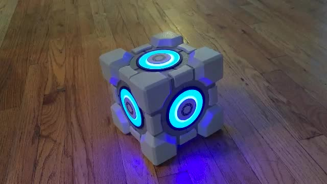 Portal Weighted Storage Cube