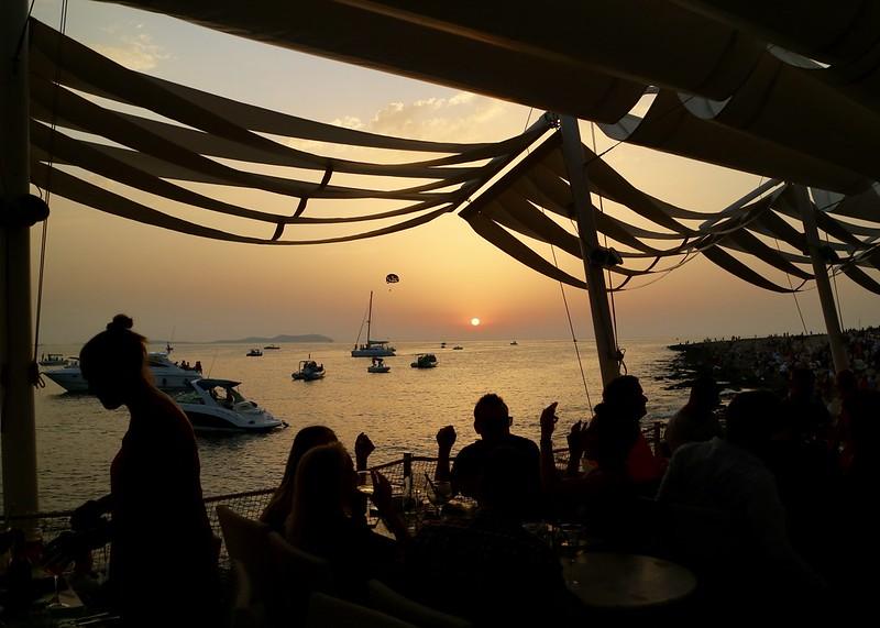 Cafe Mambo Sunset