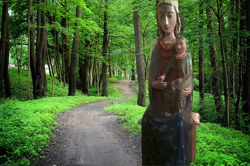 Madonna del bosco - Our Lady of the forest