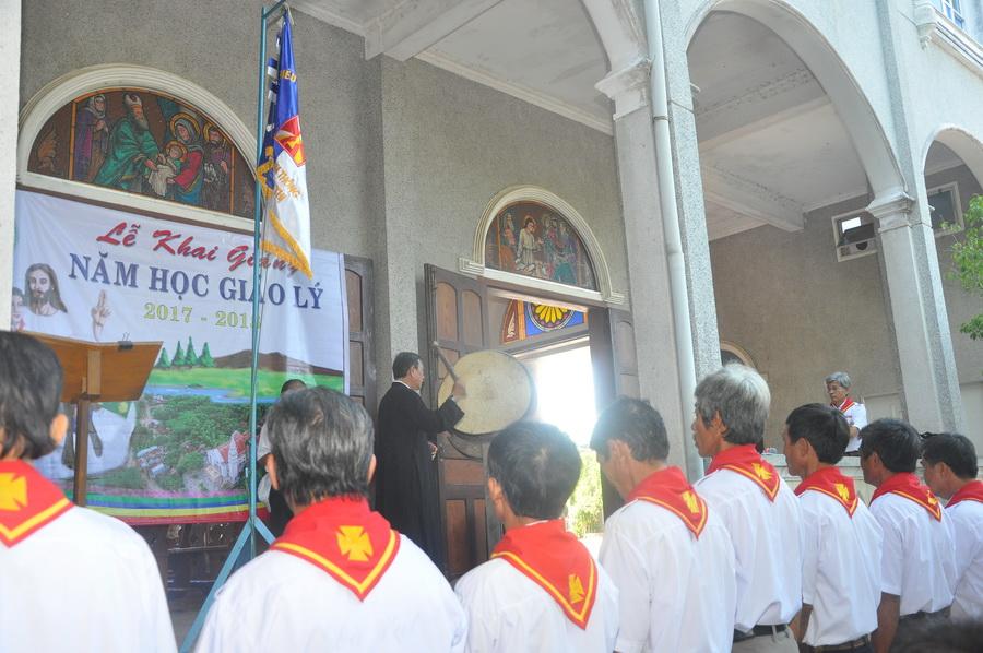 Giáo xứ Gò Thị khai giảng năm học giáo lý 2017-2018