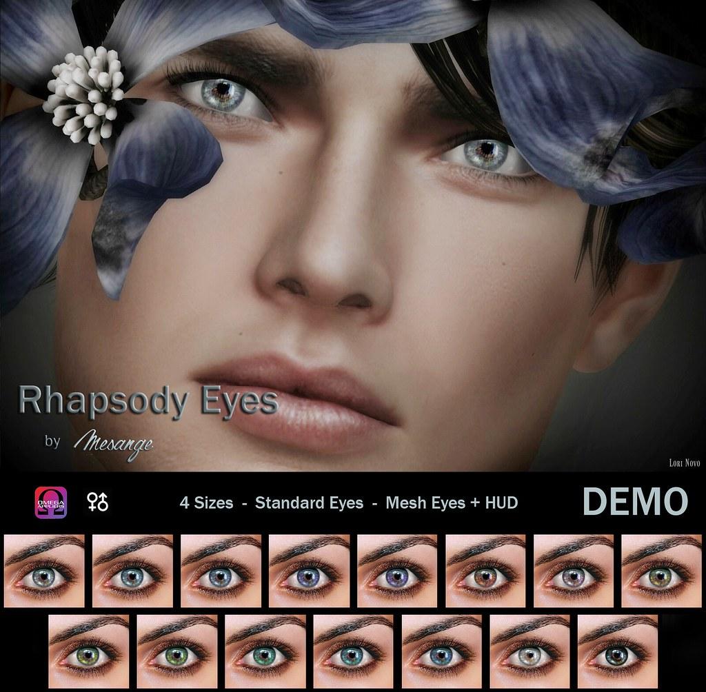 MESANGE - Rhapsody Eyes for  HME - TeleportHub.com Live!