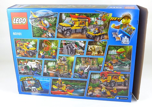 LEGO City Jungle 60161 Jungle Exploration Site 02