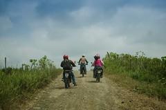 Moto Aventura se vivió intensamente en todas las parroquias de Chone