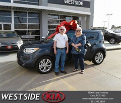 #HappyBirthday to Janna from Marlon Smith at Westside Kia!