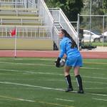 Danielle Robertson about to kick (Aug 16, 2017)