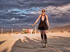 Burning Man Unicycle
