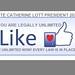 Presidential Candidate CATHERINE LOTT Election 2020 LIFE UNLIMITED! by nospankingthemonkey.com