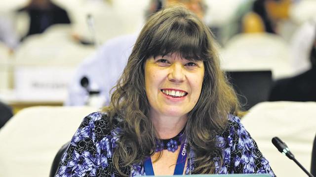 Silvia Ribeiro, uma das maiores pesquisadoras latino-americanas, esteve em Rosário, na Argentina para participar de um congresso - Créditos: Página 12