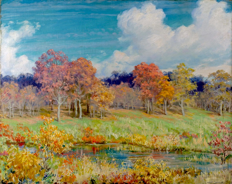Autumn Landscape by Charles Courtney Curran, 1928