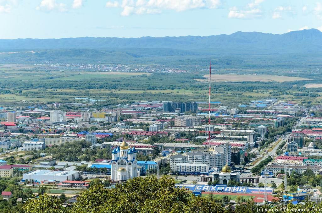 Большевик в Южно-Сахалинске