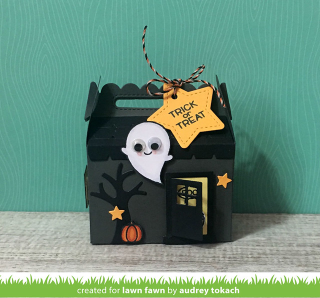 Halloween Treat Box Front