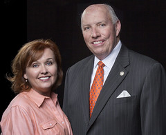OSU alumni and philanthropists Anne and Michael Greenwood.