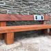 Heavy Duty Audio Bench at Neath Abbey