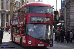 Wrightbus NRM NBFL - LTZ 1291 - LT291 - Marylebone 453 - Go Ahead London - London 2017 - Steven Gray - IMG_5923