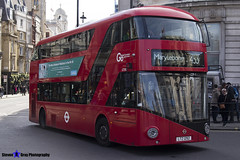 Wrightbus NRM NBFL - LTZ 1292 - LT292 - Marylebone 453 - Go Ahead London - London 2017 - Steven Gray - IMG_6001