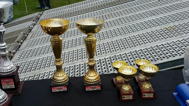 Copas donadas por Rotary