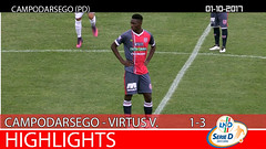 Campodarsego -Virtus V.-Este del 01-10-17
