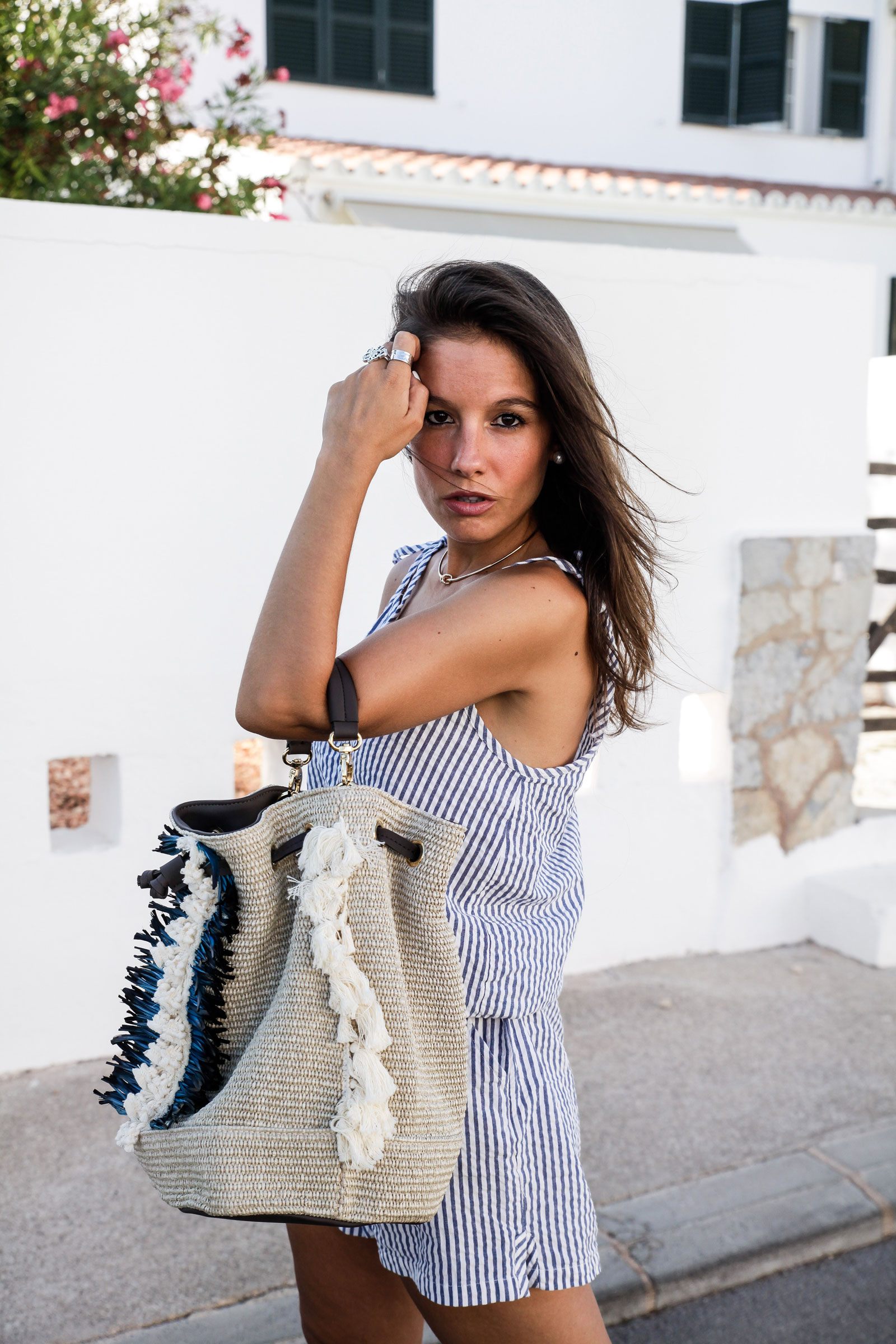 06_Mono_rayas_marineras_casual_outfit_theguestgirl_bolso_boho_via_email_pieces_style_the_guest_girl_influencer_menorca_minorca_barcelona_spain_fashion_blogger