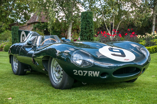 1955 Jaguar D-Type - 207 RW - 2017 Cars In The Claydons