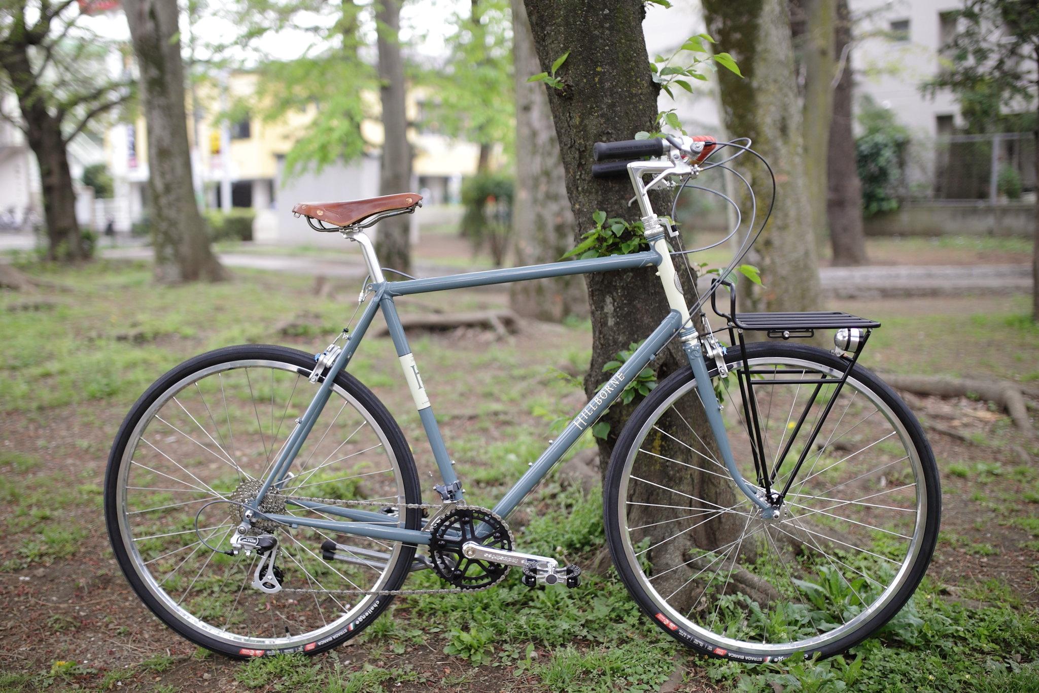 *RIVENDELL*sam hillborne complete bike BLUE LUG custom